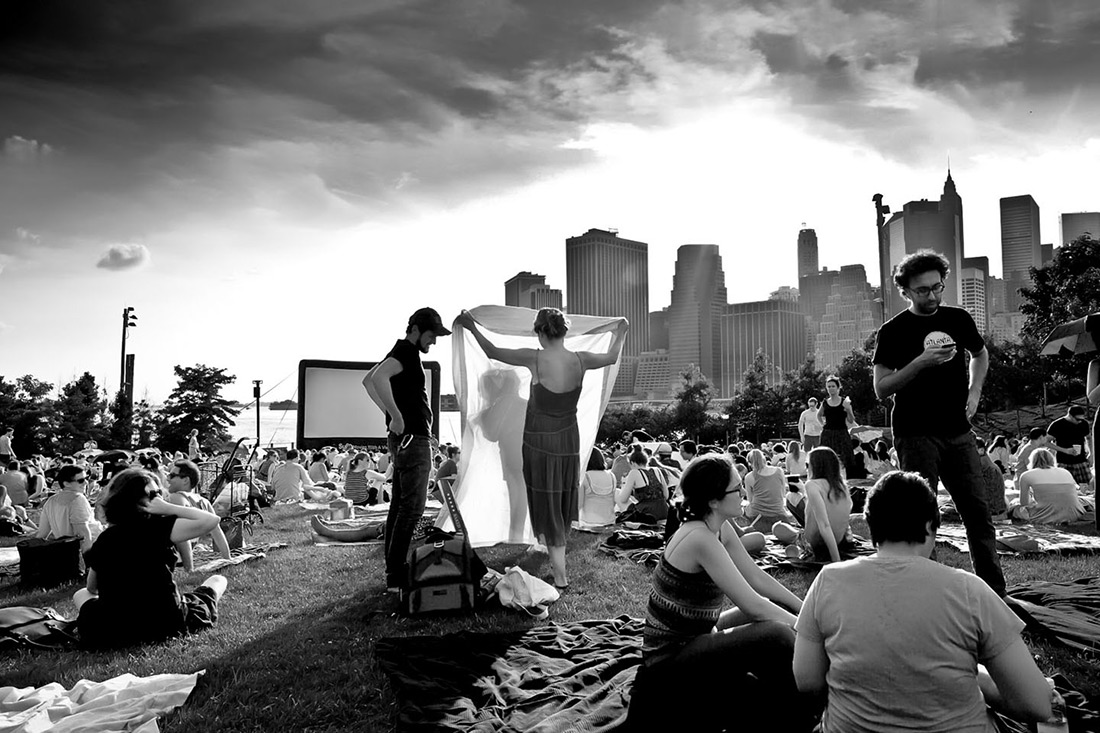 New York, Manhattan, Brooklyn, Summerscreen in Williamsburg, Stefano Torrione