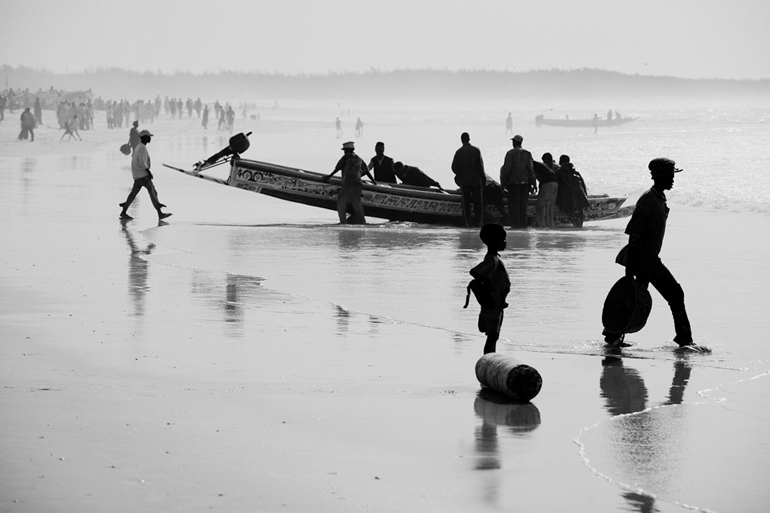 Senegal, Kayar, fisherman, beach, Stefano Torrione