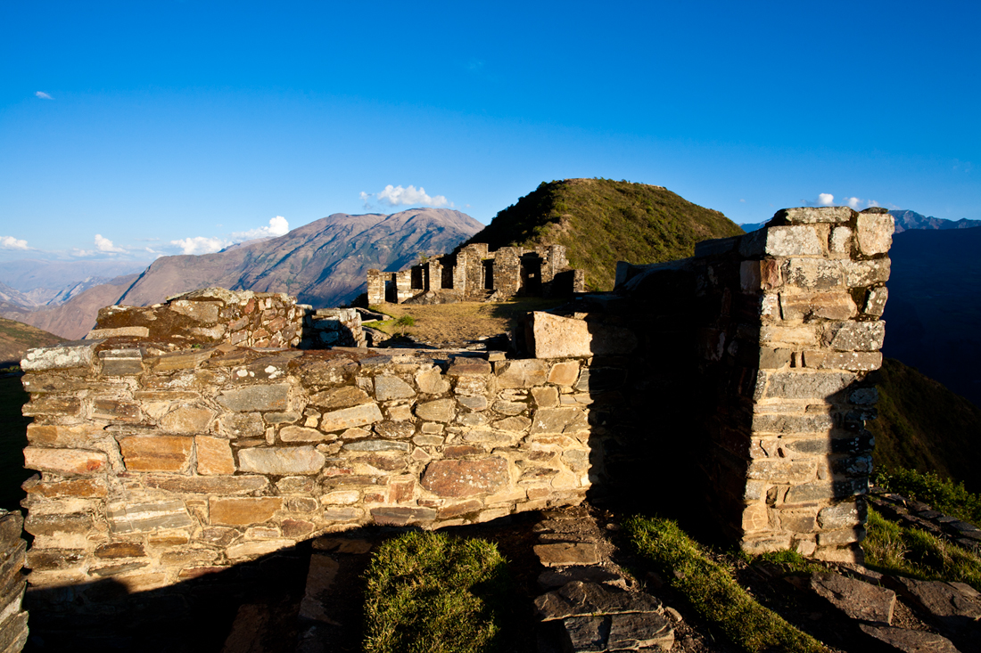 Perù the Inca site of Choquequirao