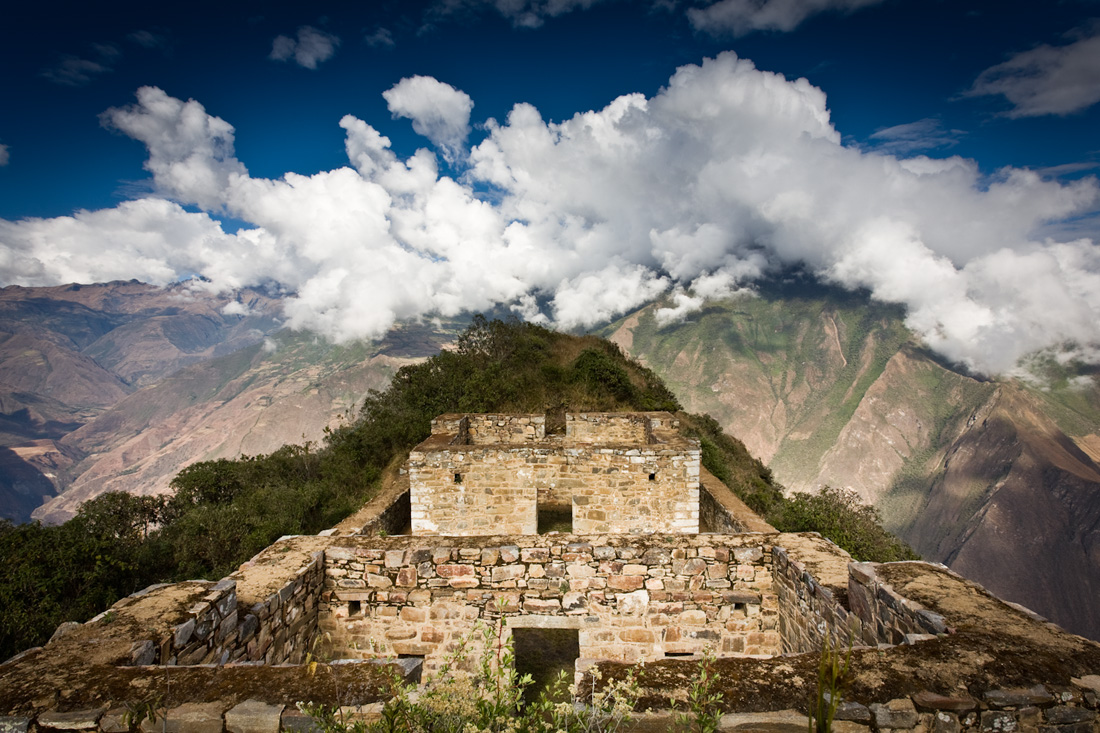 Peru the inca site of Choquequirao
