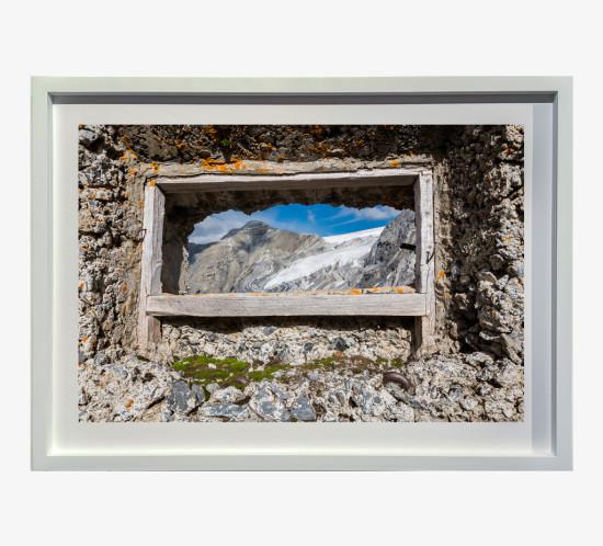 2014 Gruppo Ortles, Passo dell'Ables, feritoia italiana verso la valle dei Vitelli