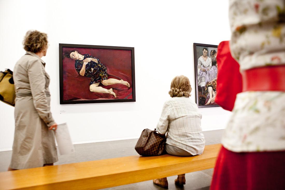 Portogallo, Lisbona, Museo Casa das Historias painting by Paula Rego