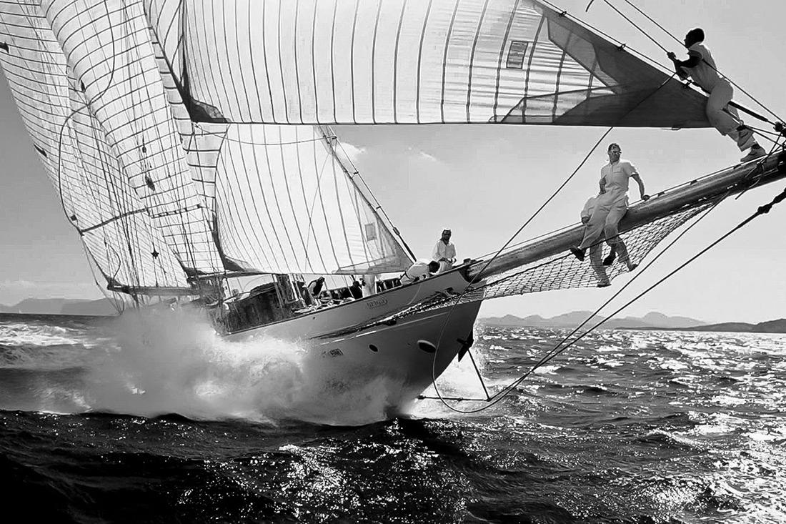 Prada Veteran Boat, Sailboat racing vintage, Stefano Torrione