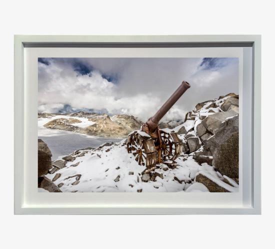 2013 Gruppo Adamello, Cresta Croce, cannone 149G italiano